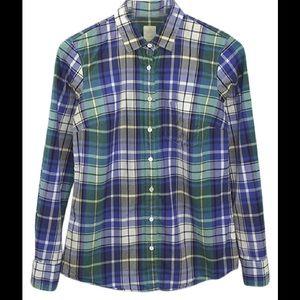 J Crew Boy Shirt Size 6